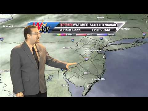 Morning Forecast for Friday, April 18th