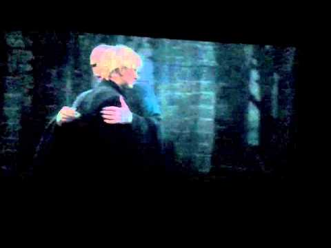 Voldemort laugh and awkward hug