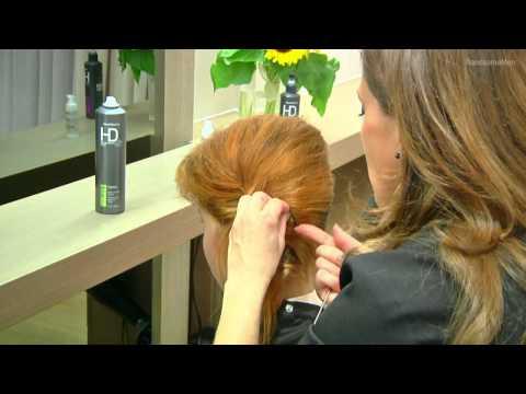 Jak ułożyć krótkie włosy na bok na gładko