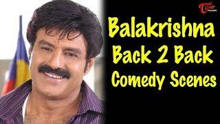 Balakrishna Back 2 Back Comedy Scenes || || NavvulaTV - NAVVULATV