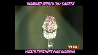 Pink diamond sells for more than $50M at auction, setting world record - INDIATV