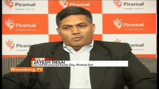Newsroom- Piramal's $1 Bn Infra Push - BLOOMBERGUTV