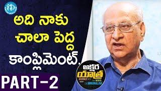 Renowned Writer V. Rajarammohan Rao Interview Part #2 || Akshara Yathra With Mrunalini #20 - IDREAMMOVIES