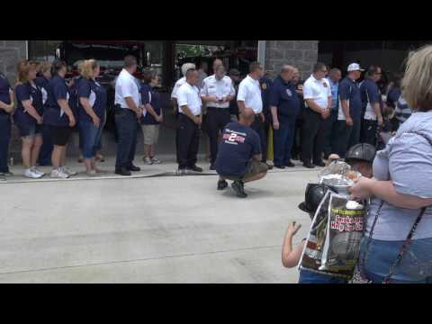Mechanicsville , Maryland Firehouse Dedication Ceremony Uncoupling of the Hose