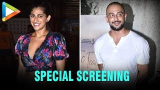 Kubbra Sait, Arunoday Singh & others at Special Screening of movie 'Music Teacher' - HUNGAMA