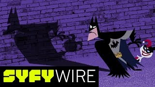Exclusive Sneak Peek: Batman and Harley Quinn Opening Credits | San Diego Comic-Con 2017 | SYFY WIRE - SYFY