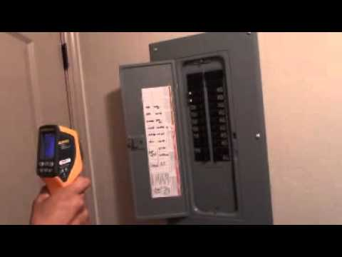 Home Inspection In St George Utah, RCI Infrared Imaging of Electrical Panel