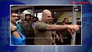 video : सबरीमाला मंदिर के समक्ष श्रद्धालुओं ने रोका महिलाओं का प्रवेश