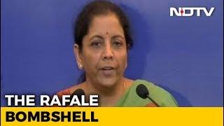 """""""Perception Battle, Will Fight It"""": Nirmala Sitharaman On Rafale Row - NDTV"""
