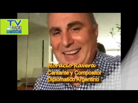 TVRadioMiami - Horacio Ravera, musico, cantante, compositor argentino reconocido internacionalmente.