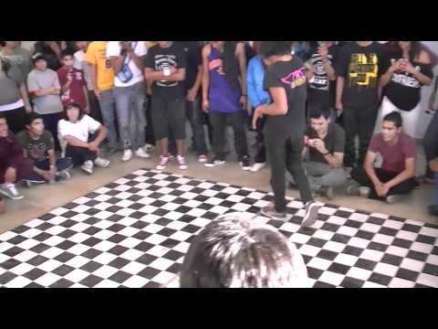 B-Boy Conejo vs B-Boy Ojon @
