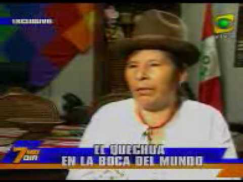 REPORTE SEMANAL - Reportaje sobre el idioma quechua (2 de 2)