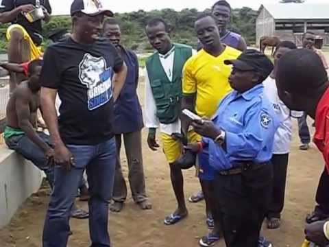 Nana kwaku bonsam encounter with the shortest security man in Ghana  p 2