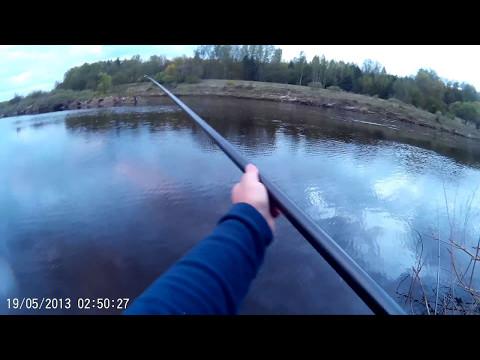 рыбалка боковой кивок на летнюю удочку на малых реках