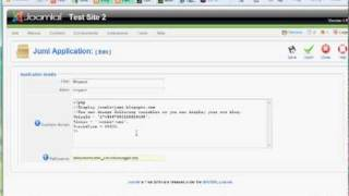 22 Blogger in Joomla using Php and Jumi view on youtube.com tube online.