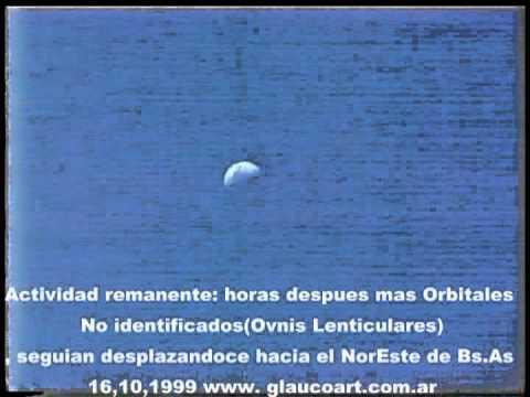 Flotilla O.V.N.I (Anomalías reales /Formaciones Triangulares ) caso ; Argentina16,10 1999