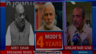 Modi road show: BJP's return to power certain in 2019, says Amit Shah - NEWSXLIVE