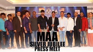 MAA Silver Jubilee Press Meet | #MovieArtistsAssociation | TFPC - TFPC