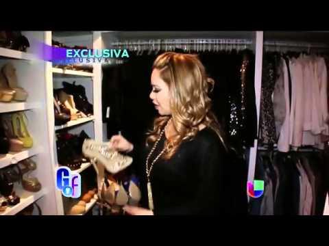 Chiquis Rivera - Abre las puertas de su closet - El Gordo Y La Flaca