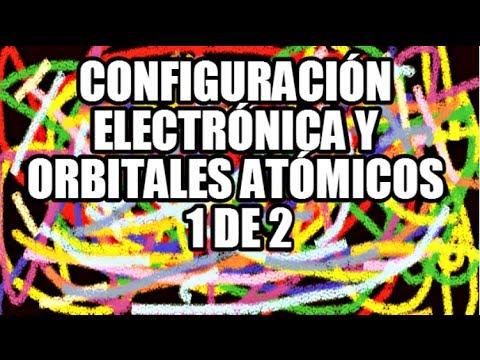 Configuración Electrónica y Orbitales Atómicos Parte 1 de 2