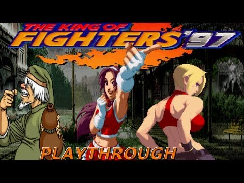The King Of Fighters '97 Oroshi Plus | Arcade | Athena Asamiya, Blue Mary & Chin Gentsai