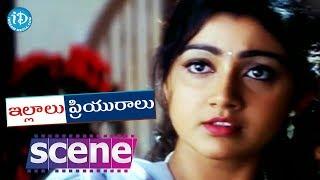 Illalu Priyuralu Movie Scenes - Jayasudha Gives Negative Impression On Venu To Divya Unni - IDREAMMOVIES