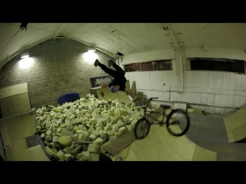 Recovery guy learning backflip with Mark Webb