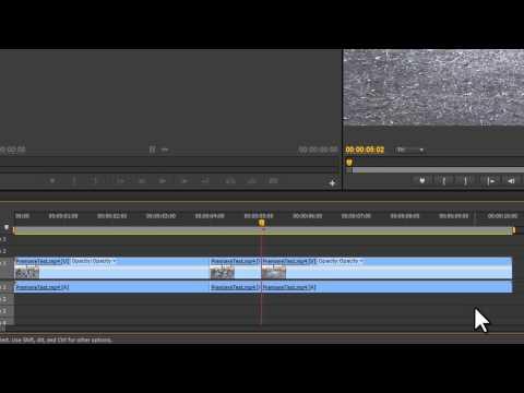 Adobe Premiere CS6 - Slow Motion, Time Lapse, & Reverse [Tutorial]