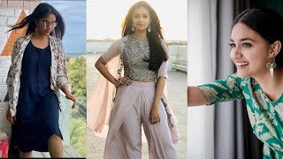 Keerthy Suresh To Became A Slim For Bollywood ? | Keerthy Suresh Trolled Badly For Becoming Skinny - RAJSHRITELUGU