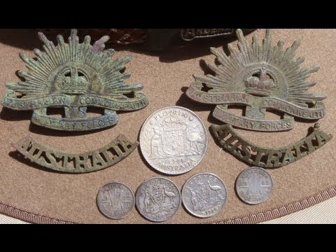 "WW2 Relic Hunt: Australian Army Hospital Site: ""The Rising Suns""."