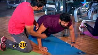 100 days challenge -  Day 20 #FitnessFirst - MAAMUSIC