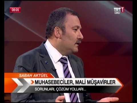ASMMMO Başkan Adayı Mehmet OKKALI, TRT1 de Sabah Aktüel Programında