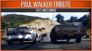 شاهد: لقطة وداع بول ووكر داخل لعبة GTA 5