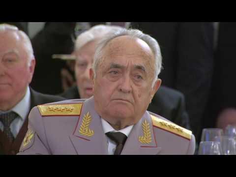 9.05.2017 Выступление В.Путина на торжественнм приёме по случаю Дня Победы