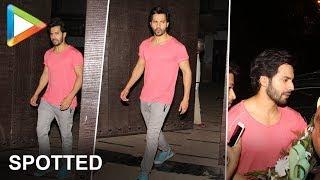 Varun Dhawan Spotted At Gym - HUNGAMA