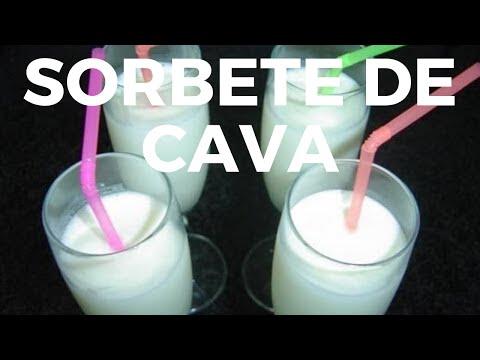 SORBETE DE CAVA