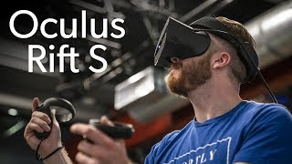 Trying out the Oculus Rift S - PCWORLDVIDEOS
