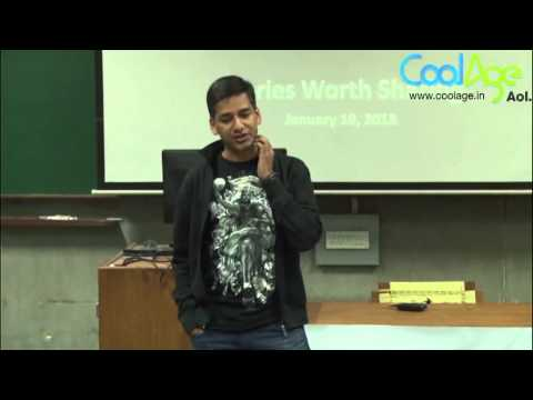 Life lessons, sports and lot more: Avinash Pant at IIM Ahmedabad Tedx 2013
