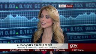 See the news report video by Alibaba jumps 38% in NYSE trading