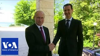 Syria's Assad Meets With Putin in Russia - VOAVIDEO