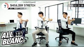 【EP42】4 Minute OFFICE STRETCHING(full body)