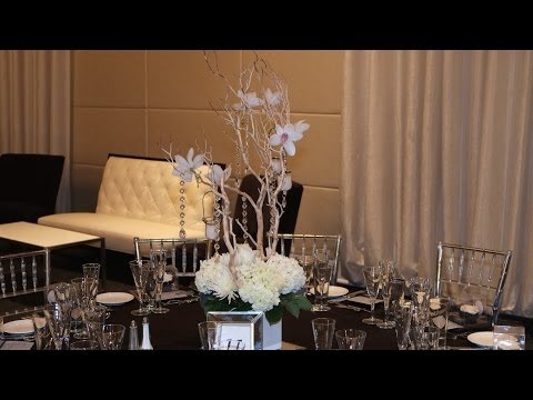 Manzanita Tree Wedding Centerpieces