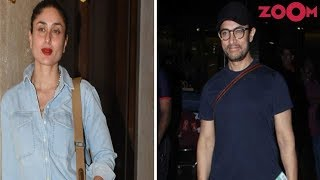 Kareena Kapoor Khan's COMFY CHIC look | Aamir Khan's COOL SIMPLE avatar | Style Today - ZOOMDEKHO