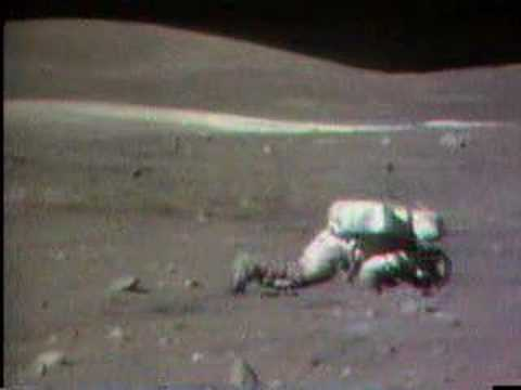 Charlie Duke on the Moon