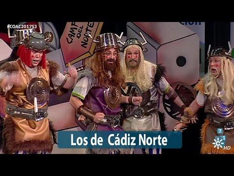 Sesión de Semifinales, la agrupación Los de Cádiz norte actúa hoy en la modalidad de Chirigotas.