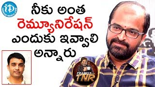 Abburi Ravi About His Remuneration || Frankly With TNR || Talking Movies With iDream - IDREAMMOVIES