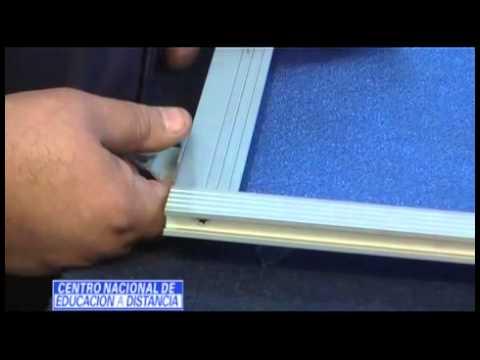 Carpintería en Aluminio - Kit de una mampara de baño