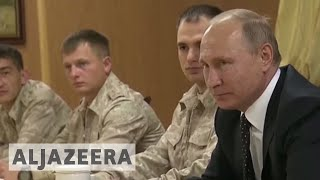 Putin orders Russian troops' withdrawal from Syria - ALJAZEERAENGLISH