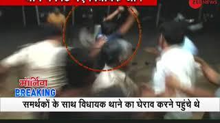 Morning Breaking: MLA Vimal Chopra creates ruckus in Mahasamund Police station - ZEENEWS