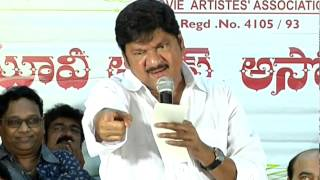 MAA Executive Body swearing in ceremony 2015 Full Video - Movie Artistes' Association - TFPC